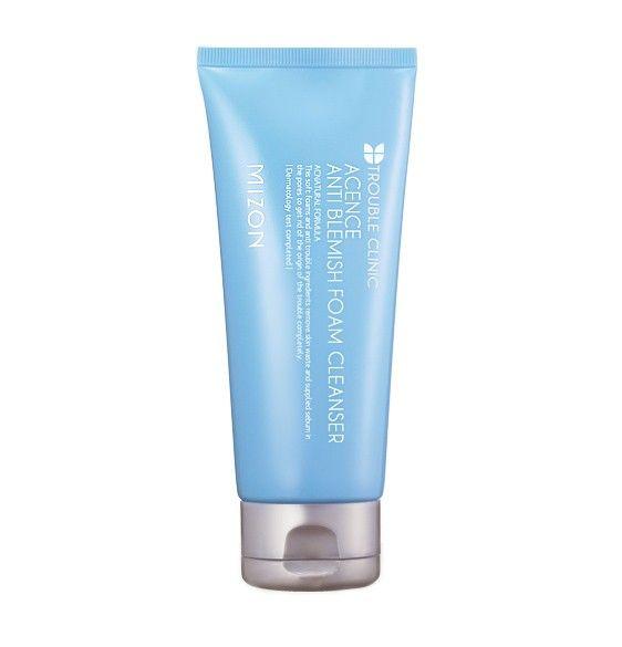 Очищающая пенка для лица Mizon — Acence Anti Blemish Foam Cleanser #Mizon Обзор на сайте http://beauty-revenge.ru/?p=973