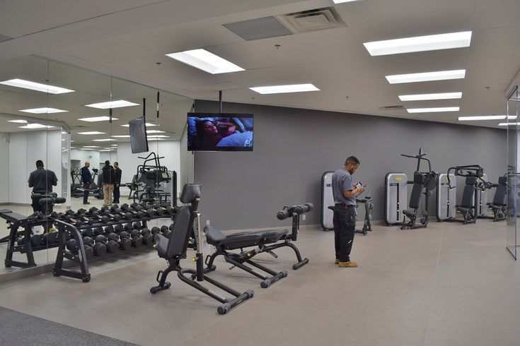 Marriott Hotel Fitness Centre Renovation - Rogers Centre / Downtown Toronto