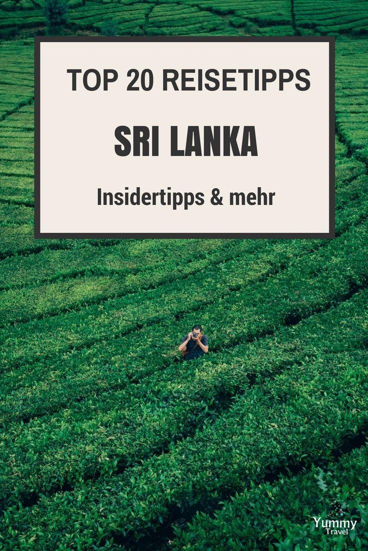 Suchst du noch einen angefallenen Reisetrend für 2017? Sri Lanka ist ein Traumreiseziel. Hier findest du meine Top 20 Reisetipps für eine unvergessliche Reise.