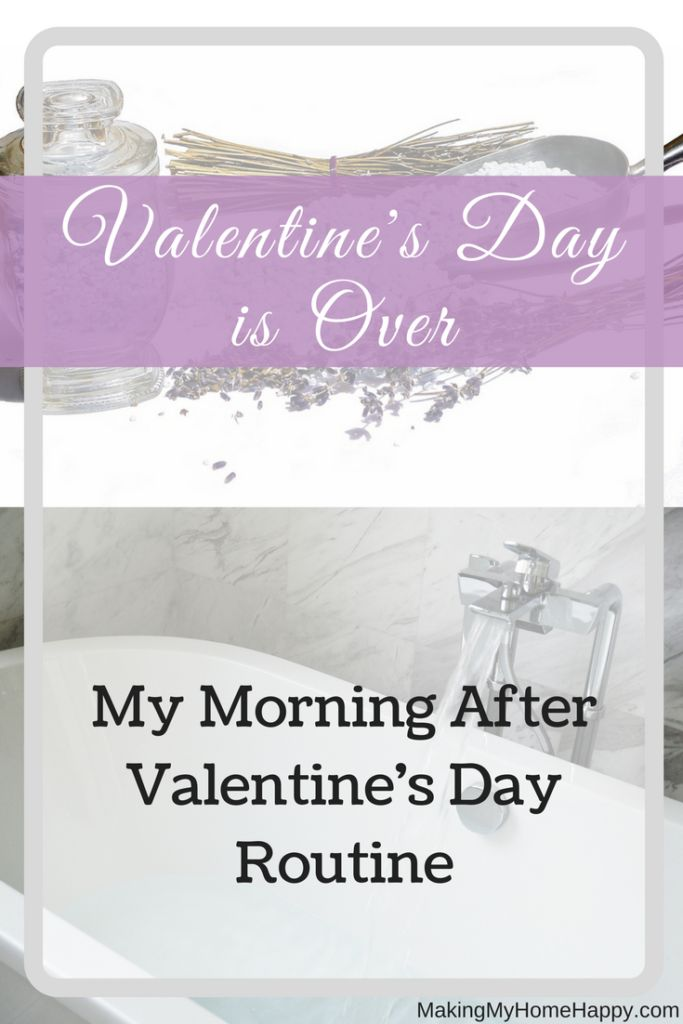 Spending much of Valentine's day focusing on your significant other. Now that Valentine's day is OVER, Love and pamper yourself. My morning after routine.