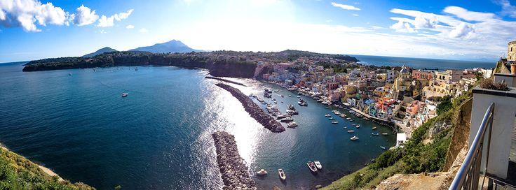 Corricella, Isola di Procida, Napoli, Italy  giugno 2016 #procida