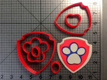 Paw Patrol - Chase 266-B419 Cookie Cutter Set in 2019 ...
