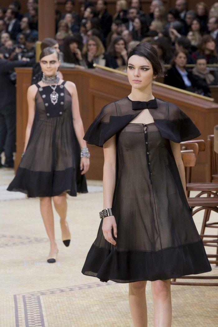 Kendall e Cara - Paris Fashion Week: Chanel | DRESS A PORTER – BLOG