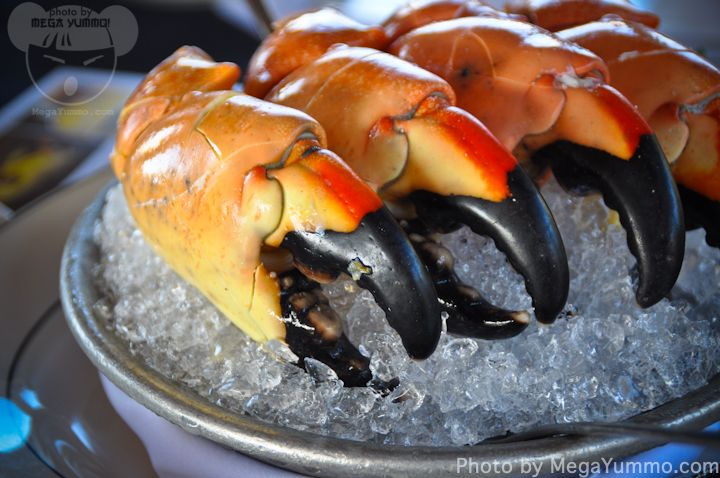 @Hillstone serving Florida Stone Crab Claws