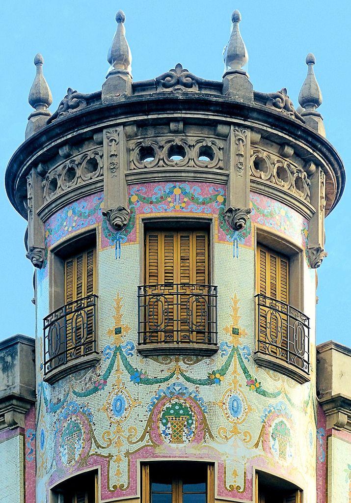 Casa Maldonado 1914 Architect: Antoni Millás i Figuerola