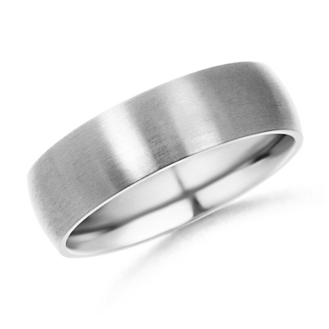 The Classic Low #Dome Wedding Band is such a clean, masculine design I'm sure even the man who has never worn a piece of jewelery before in his life would feel comfortable wearing this.