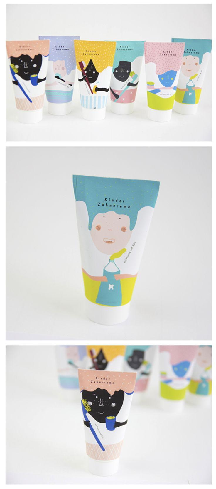 """Playfull Toothpaste for children with """"magic"""" tube! Förpackad -Sveriges största förpackningsblogg Förpackningsdesign, Förpackningar, Grafisk Design - CAP&Design - Nordens största tidning för kreativa formgivare"""