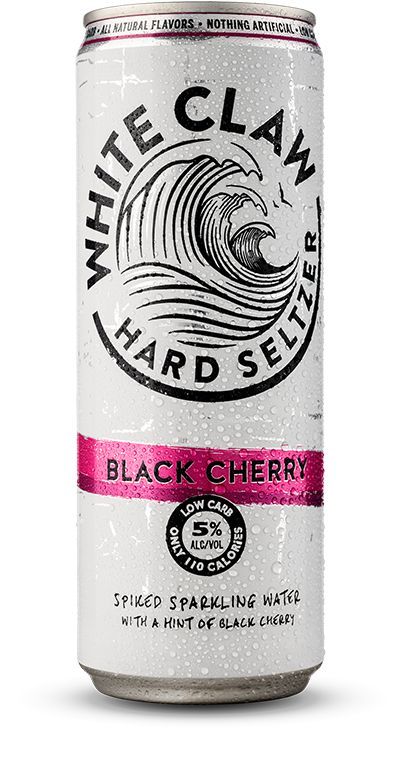 Picture of can of White Claw Hard Seltzer - Black Cherry Flavor