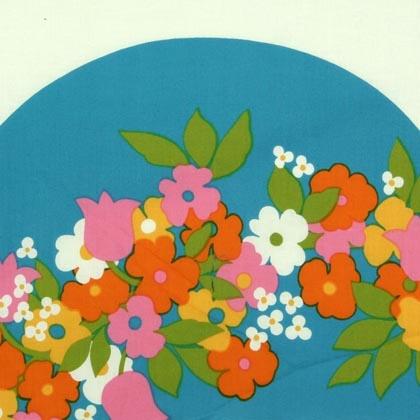 Porin Puuvilla fabric design by Raili Konttinen (1970-73)
