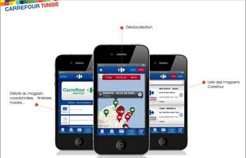Carrefour Tunisie 1.1 présente la dernière mise à jour de l'application Carrefour Tunisie développée par Pixels Trade. L'application permet de géolocaliser les différents points de vente Carrefour, Carrefour express et Carrefour Market opérant sur le territoire Tunisien.