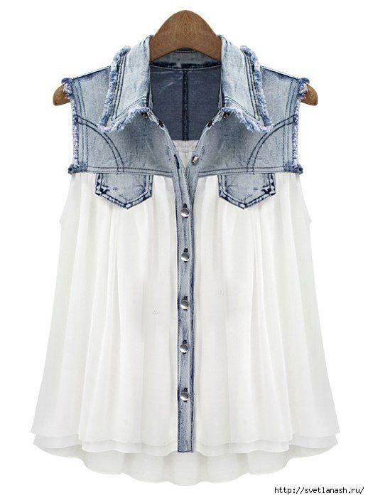 Идеи для переделки одежды