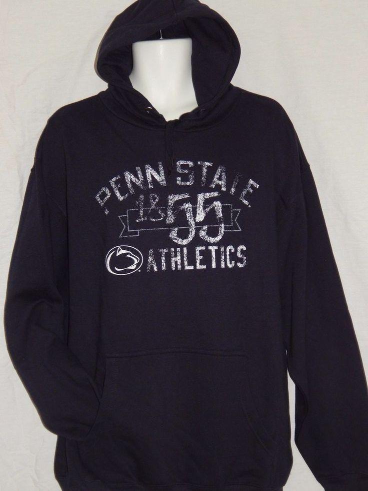 Penn State Nittany Lions Hooded Sweatshirt MENS Sizes NCAA Team Apparel PSU Logo…