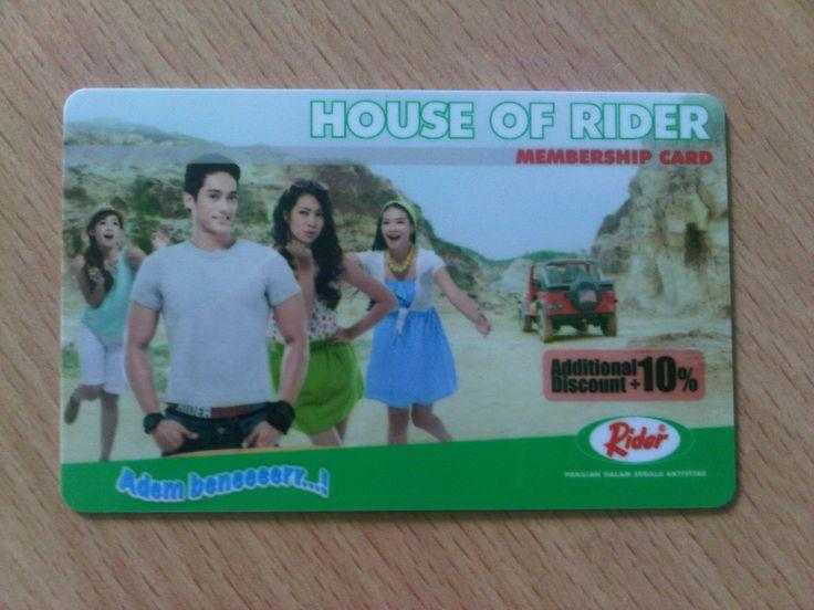 Member card Rider