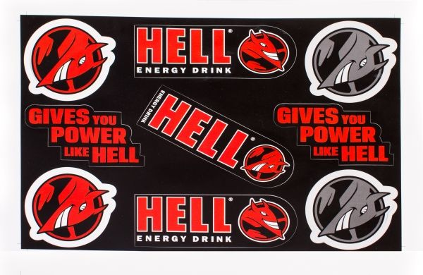 Hell Energy Stickers