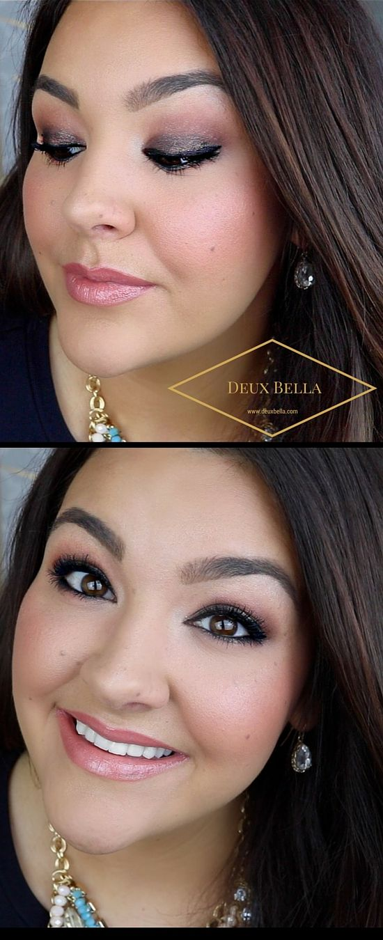 Chocolate & Rose Makeup Soft Glam Makeup Tutorial, Beauty, Wedding, Bride, Bridal, Engagements, Valentines Day, Prom, Beauty, Makeup, Bobbi Brown, Pretty, Glamorous