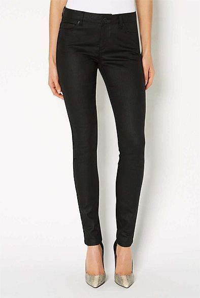 #witcherywishlist 5 Pocket Coated Skinny Jean | Women's Clothing by Witchery Online