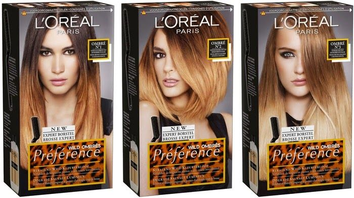 Ombre Hair Hair Kit Ombre Hair Color