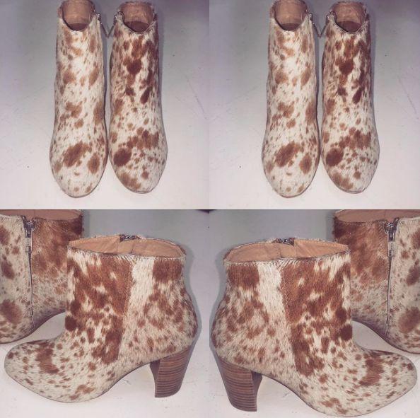 In love and in store! #Fashion#fashionblogger#style#styleblogger#blog#bohemian#boho#bohochic#boholuxe#gypsy#gypset#retro#vintage#style#bohostyle#freespirit#shop#boots#ankleboots#ponyskin#winter#hide#dappled#leather#stylish#trend