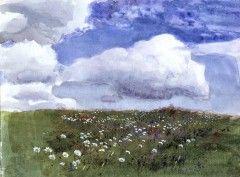 """Flower Meadow"", Eero Jarnefelt (1863–1937) - Kukkaketo"
