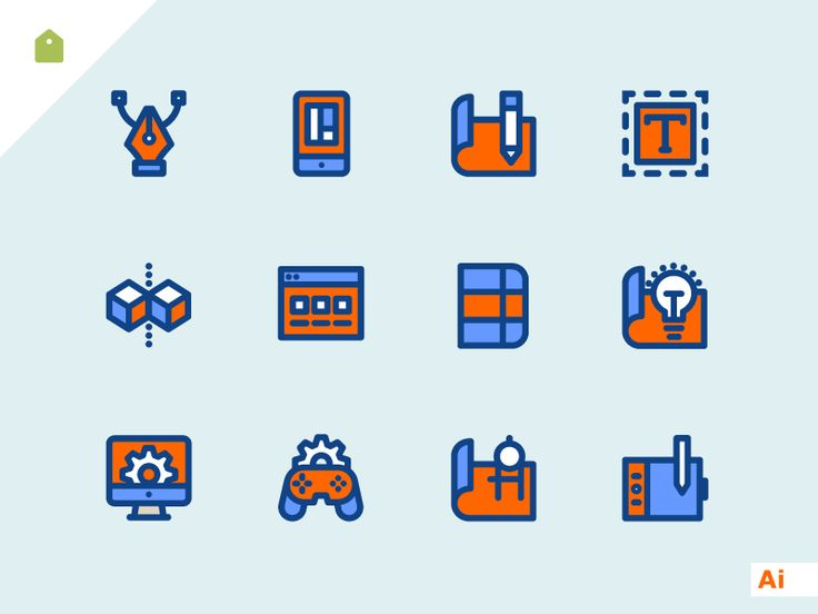 Dribbble - Design Icons Freebie by Sooodesign