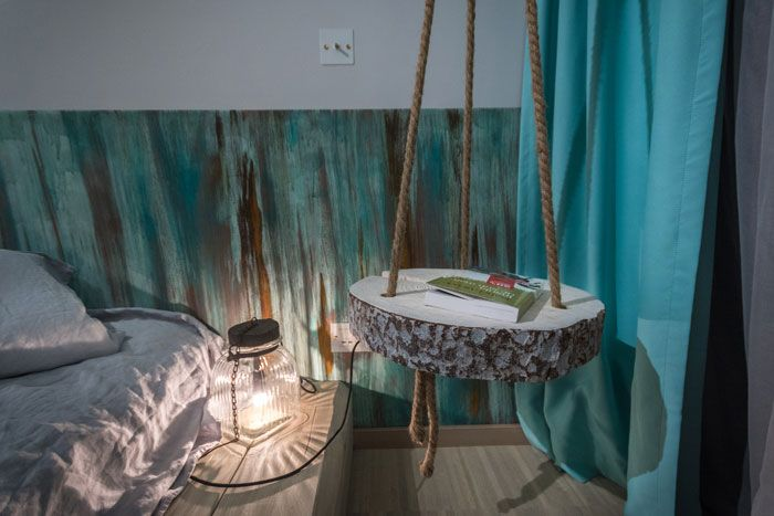 Cool idea, bedsidetable