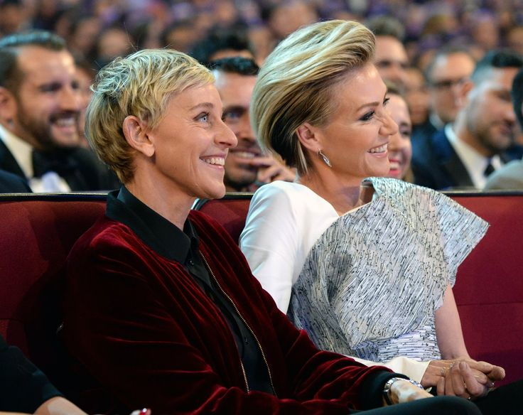 Portia de Rossi Could Not Take Her Eyes Off Ellen DeGeneres at the PCAs