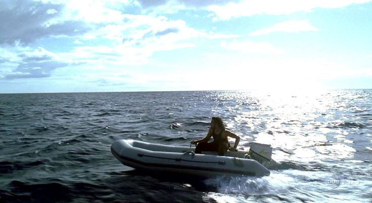 """4.11 """"Cabin Fever"""" – Sayid takes the freighter's Zodiac raft to the Island in order to start ferrying the survivors to the Kahana. He believes that is the only way to save their lives. Desmond declines to join Sayid on this mission. """"I've been on that Island for three years. I'm never setting foot on it again… not when Penny's coming for me."""""""