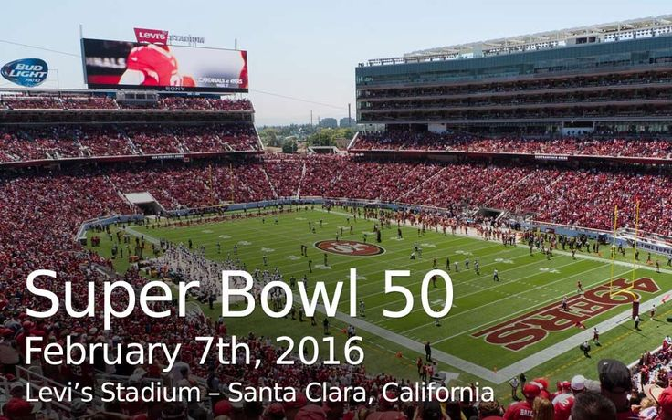 super bowl 2016 location and date | packages about contact superbowl 2016 masters 2015 kudos pics blog