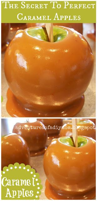 Three secrets for perfect homemade caramel apples. Must-read tips for making your own caramel apples