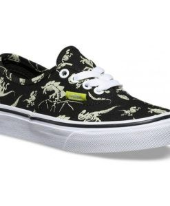 Vans | Authentic Glow Dinosaurs | Kids Shoes Awesome kids kicks with glowing dinosaurs!
