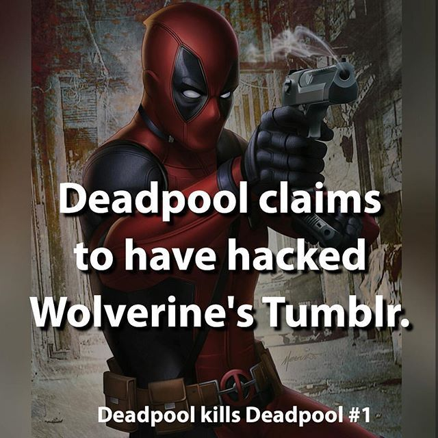 Deadpool kills Deadpool ... °°