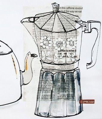 The Bowerbird | Coffee pot