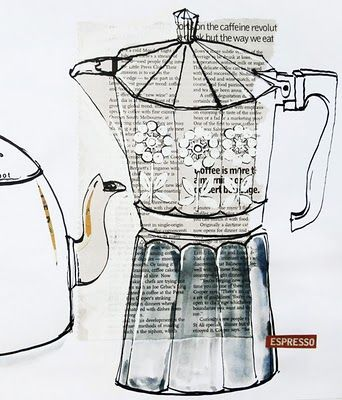 The Bowerbird | Coffee pot