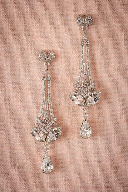 BHLDN Eli Chandelier Earrings in  Bride Bridal Jewelry at BHLDN