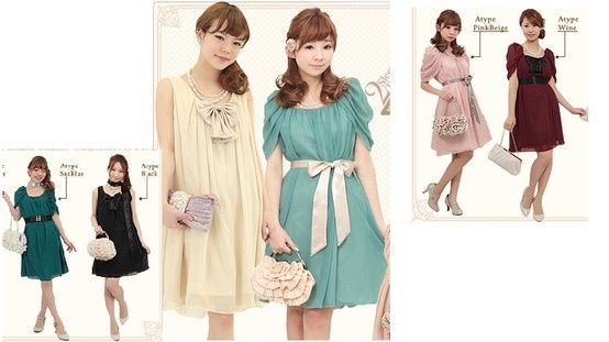 Cute party style from japan!