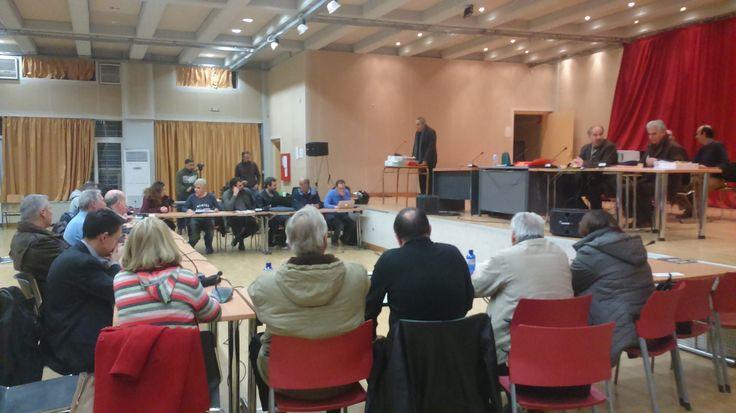 Η συνεδρίαση του Δημοτικού Συμβουλίου την Τετάρτη 25/1 (Ρεπορτάζ)