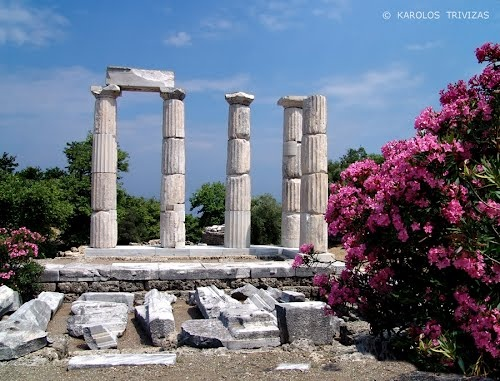 Samothrace Ancient Temple.