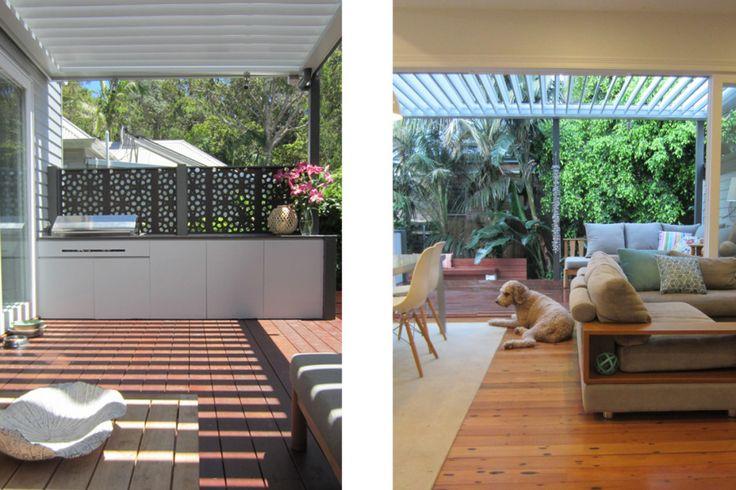 Beach Cottage, indoor outdoor