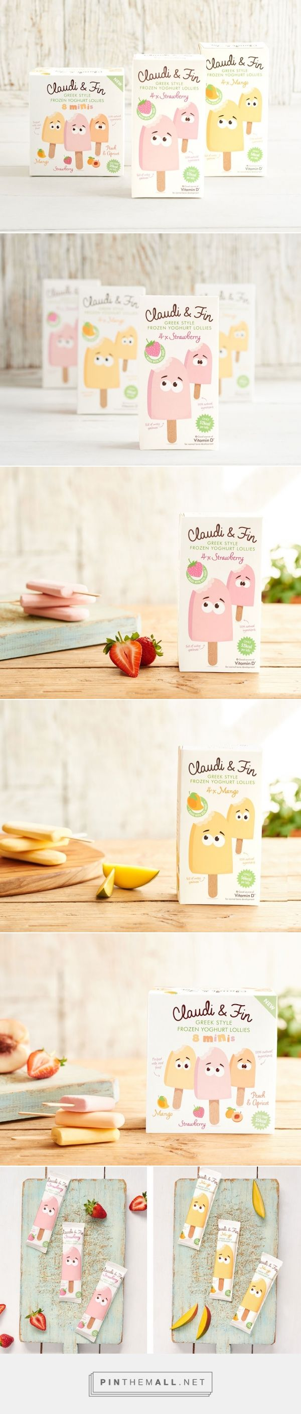 Claudi & Fin - Packaging of the World - Creative Package Design Gallery - http://www.packagingoftheworld.com/2016/04/claudi-fin.html