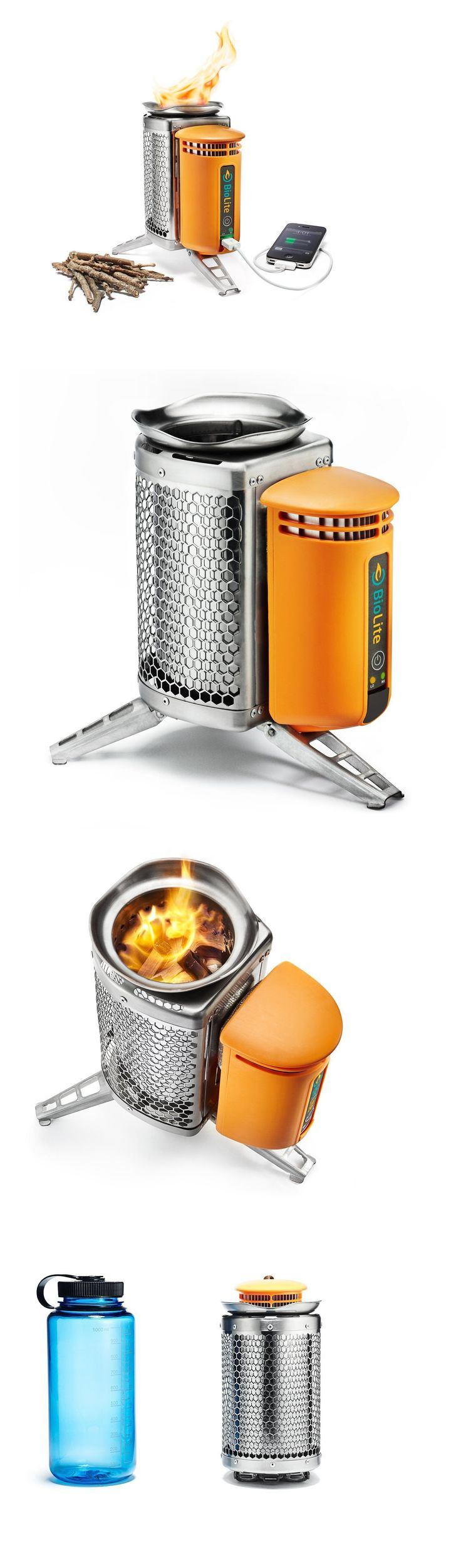 Camping Stoves 181386: Biolite Campstove Portable Wood-Burning Stove And Power Generator Camping/Survival BUY IT NOW ONLY: $129.95