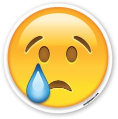 Crying Face | Emoji Stickers