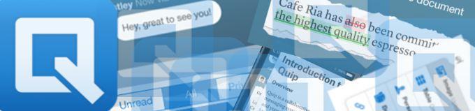 Quip – Edite, partilhe e comente documentos online - Ferramentas Educativas