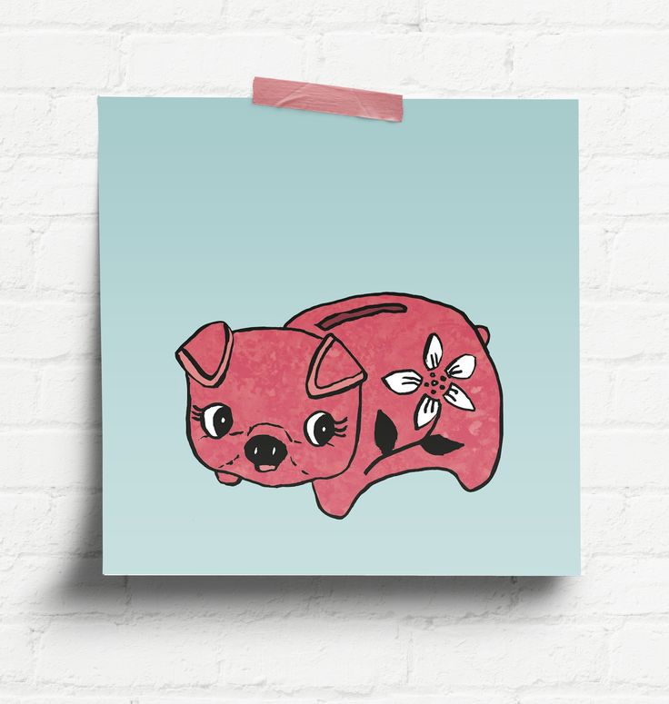 Piggy Bank by Thunder and Icecream