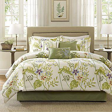 jcp | Madison Park Hana Tropical 7-pc. Comforter Set