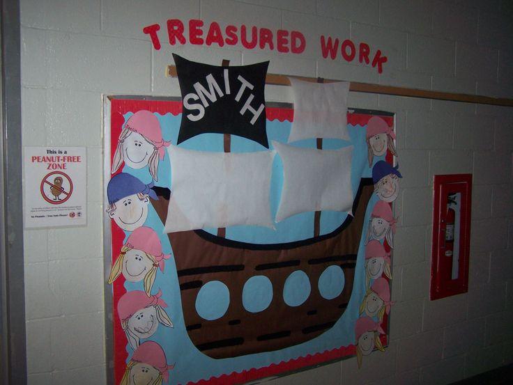 This year's bulletin board - pirate bulletin board
