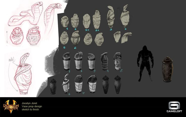 ArtStation - Chests design - Dungeon Hunter 5, Jocelyn Joret