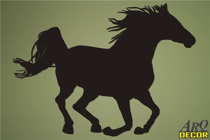 Pracownia Dekoracji ARQ - DECOR - Koń w galopie Nr 11 (NA ZAMÓWIENIE) dekoracje ścienne 3d