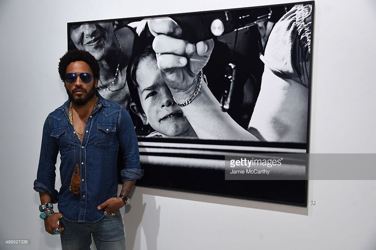 Lenny Kravitz attends the Opening of Lenny Kravitz FLASH Photography Exhibition at Miami Design District on December 1, 2015 in Miami, Florida.