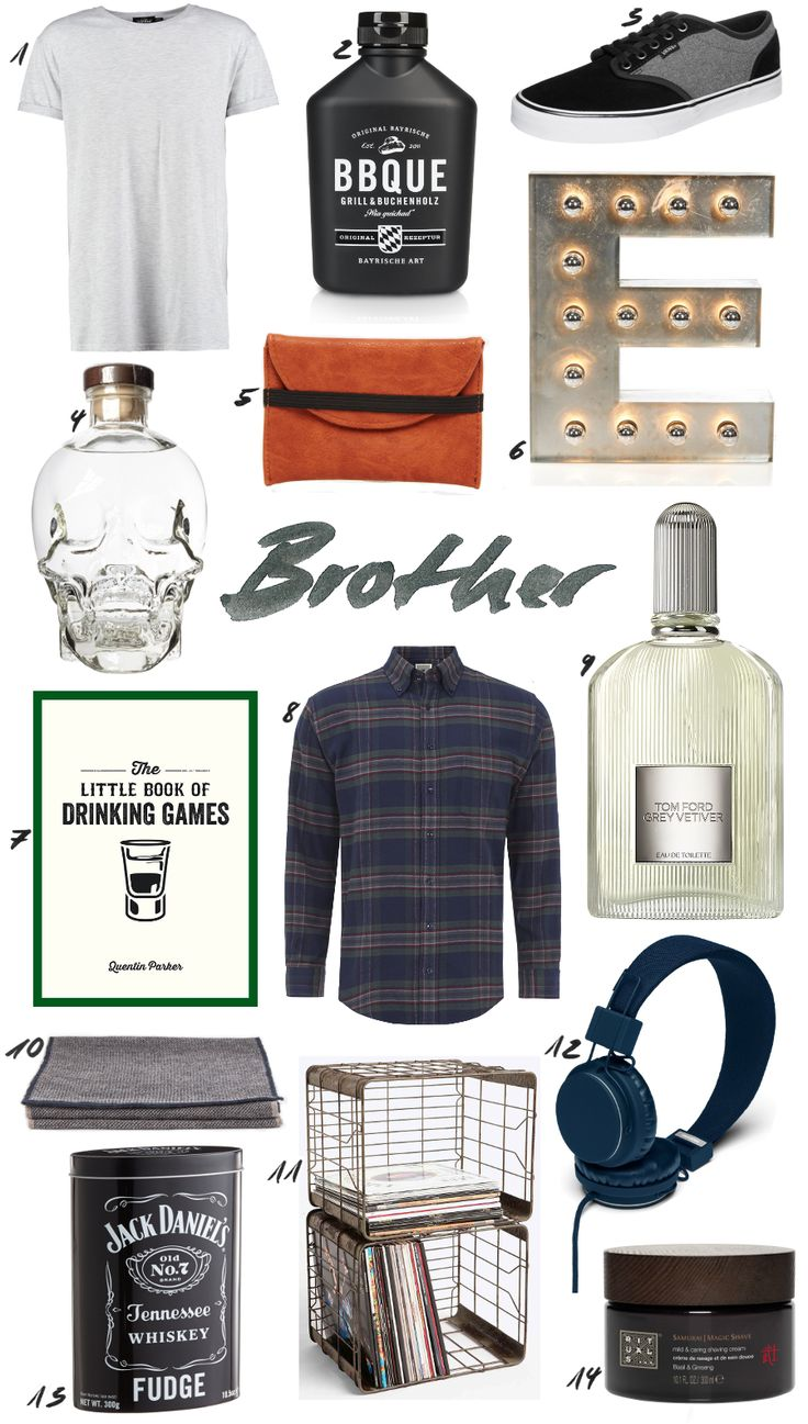 Christmas Gift Guide for your Brother / Christmas, Interior, Presents, Men. More on: www.thedashingrider.com