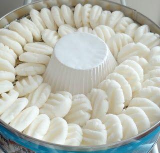 Homemade cream cheese mints